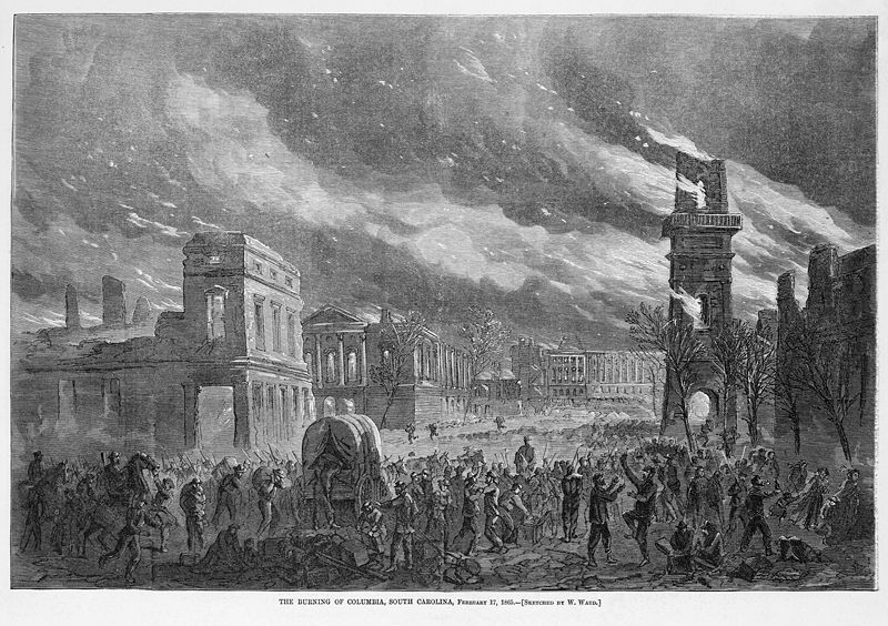 The Burning of Columbia, SC