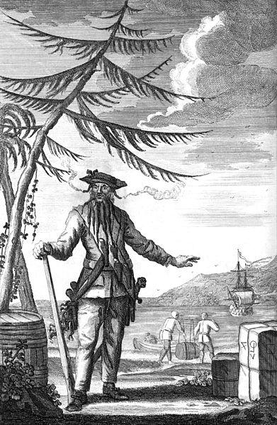 Edward Teach, Commonly Call'd Black Beard