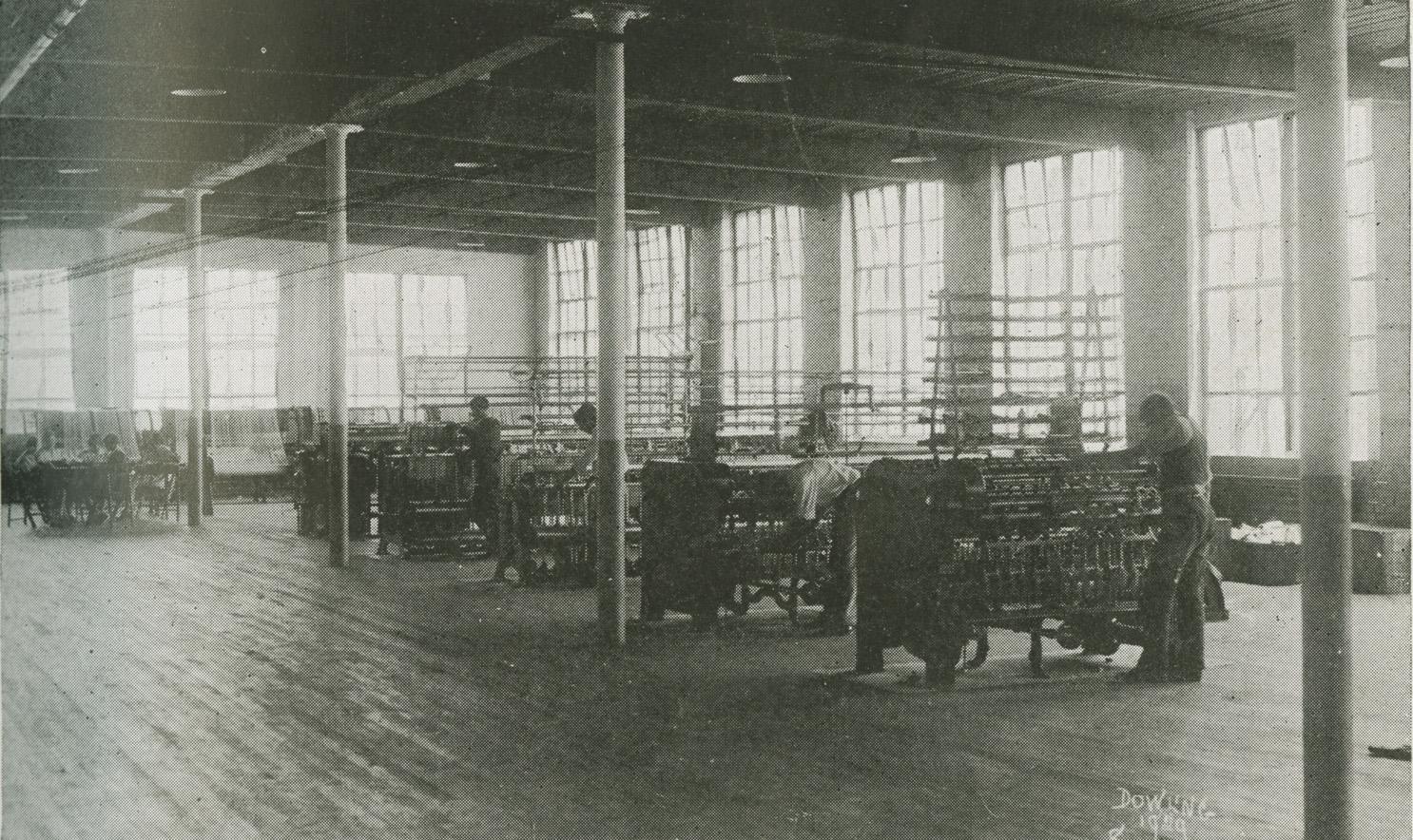Vocational Building Interior