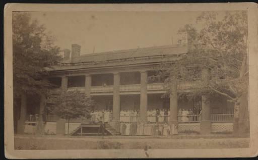 Williamston Female College, Exterior, 1886