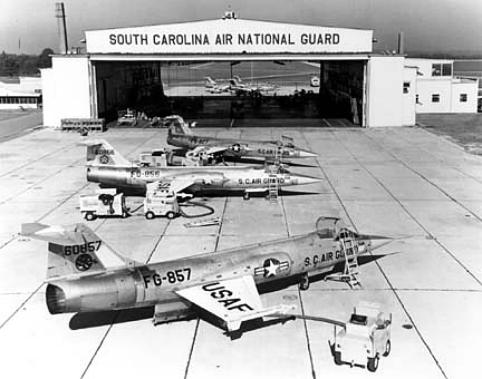 F-104As_South_Carolina_ANG_early_1960s