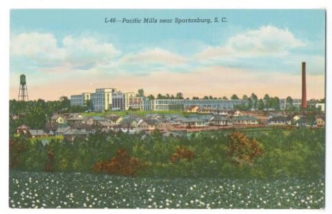 Pacific Mills near Spartanburg, S.C.